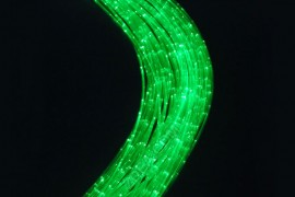1 side glow fiber optic cable