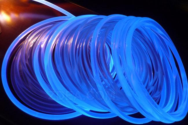 1 side glow fiber optic cable