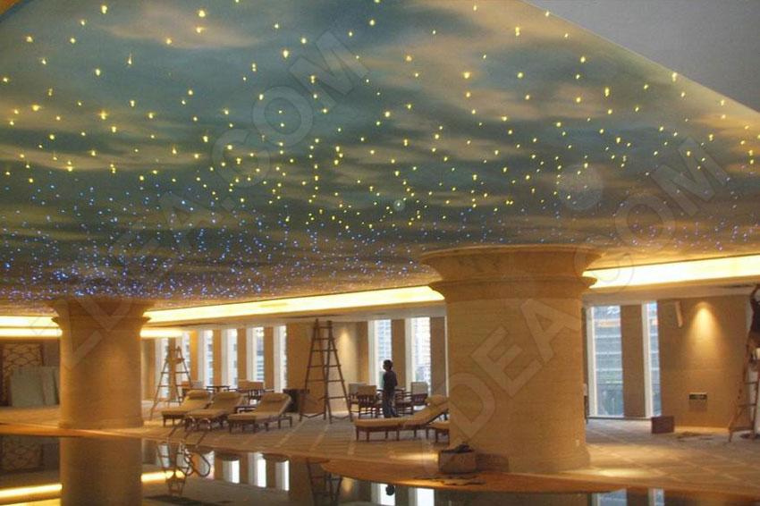 4 fiber optic ceiling lighting